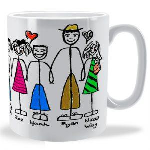 Maria Kallivretaki design shown on a Mug