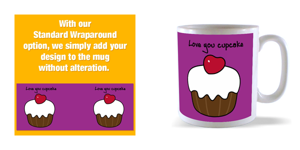 our wraparound mug template