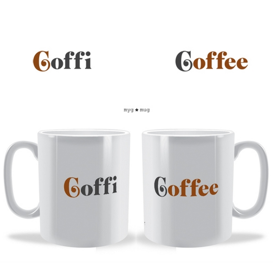 Coffi Coffee Myg Mug